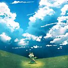 Under the Clouds by kickingshoes
