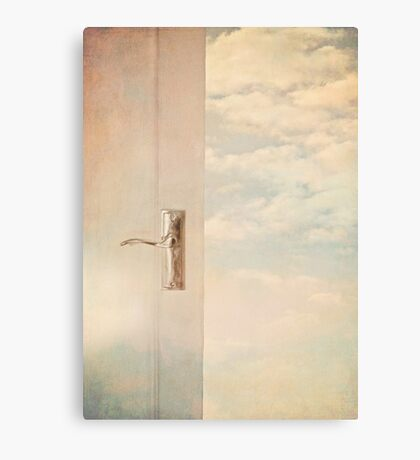 Stepping out into a dream. Canvas Print