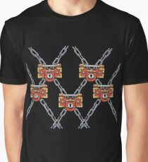 Psyche Locks with Chains Graphic T-Shirt