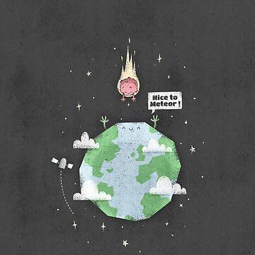 Nice To Meteor by boneydesign