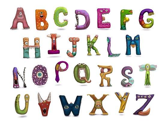 Monster Alphabet by Susan Robinson