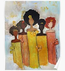 Sistahs Stand Golden Poster