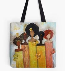 Sistahs Stand Golden Tote Bag