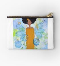 Sistah Stand Angel, African American Studio Pouch