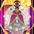 Master of the Mystic Arts by kickingshoes