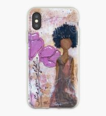Let Your Light Shine, African American, Latina iPhone Case