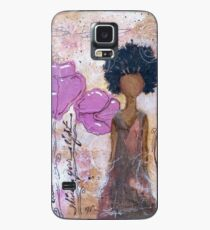 Let Your Light Shine, African American, Latina Case/Skin for Samsung Galaxy
