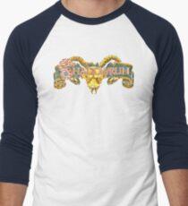 Shadowrun (Genesis Title Screen) Men's Baseball ¾ T-Shirt