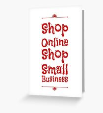 Shop Online cute Greeting Card
