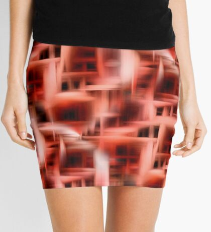 Abstract Rooms Of The Mind Mini Skirt