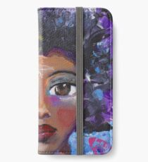 Fearless Girl, African American, Latina iPhone Wallet/Case/Skin