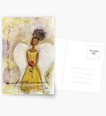 Angel of Peace 2, African American, Black Angels, Latina Postcards