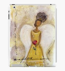 Angel of Peace 2, African American, Black Angels, Latina iPad Case/Skin