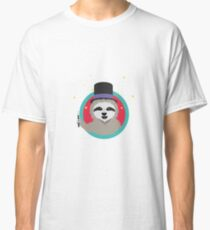 Magican Sloth with wand Classic T-Shirt