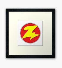 Toy Story - Zurg Logo Framed Print