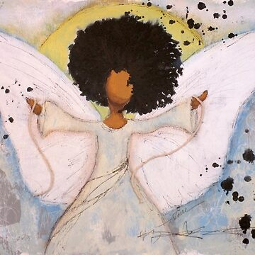 Boundless Angel, African American, Latina, Black Angel by classygirl