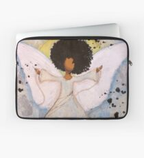 Boundless Angel, African American, Latina, Black Angel Laptop Sleeve