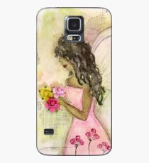 Angel of Encouragement, African American, Latina, Angel Case/Skin for Samsung Galaxy