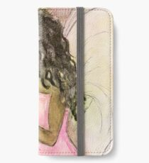 Angel of Encouragement, African American, Latina, Angel iPhone Wallet/Case/Skin