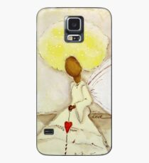 Angel of Love Again, African American, Latina Case/Skin for Samsung Galaxy