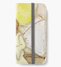 Angel of Love Again, African American, Latina iPhone Wallet/Case/Skin
