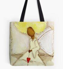 Angel of Love Again, African American, Latina Tote Bag