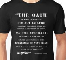 The Oath - white Unisex T-Shirt