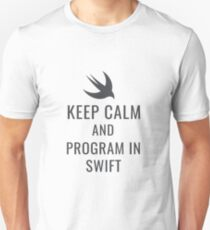 Keep Calm & Program In Swift Unisex T-Shirt
