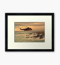 Royal Navy Rescue  Framed Print