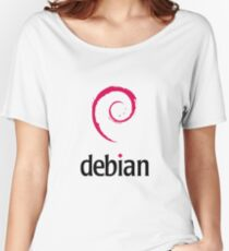 Debian LINUX Women's Relaxed Fit T-Shirt