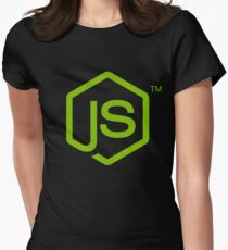 Nodejs Womens Fitted T-Shirt
