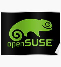 openSUSE LINUX Poster