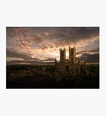 Reds Love Lincoln  Photographic Print