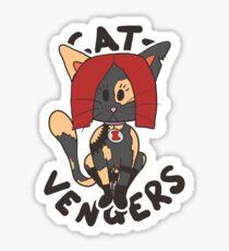 Cat Widow Sticker
