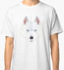 polygonal husky illustration Classic T-Shirt