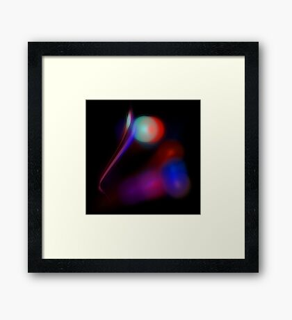 Apophysial Abstract 071111.2 Framed Print