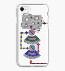 flow chart iPhone Case/Skin