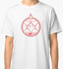 Flame Transmutation Circle - Roy Mustang Classic T-Shirt