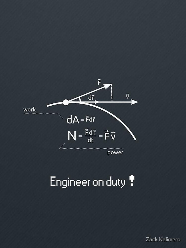 Engineer work = power ! by afonsolizardo