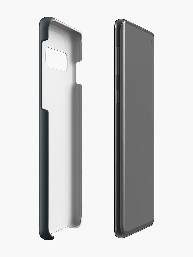 Alternate view of Engineer work = power ! Case & Skin for Samsung Galaxy