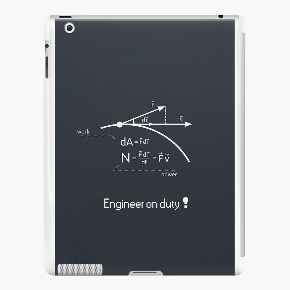 Engineer work = power ! iPad Cases & Skins