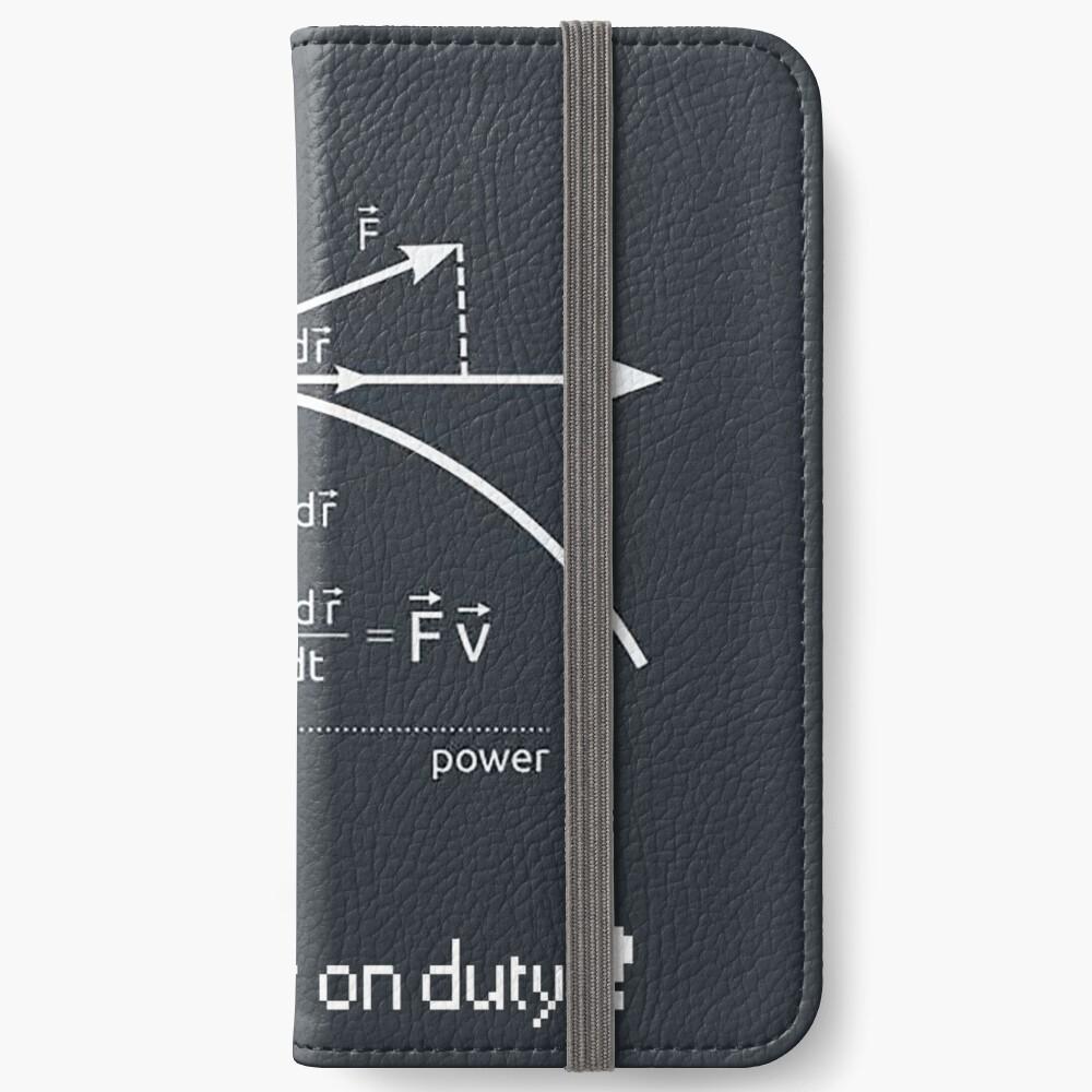 Engineer work = power ! iPhone Wallet