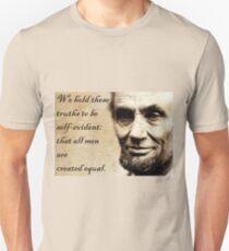 Equality Abraham Lincoln Unisex T-Shirt