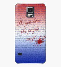 Funda/vinilo para Samsung Galaxy ¿Escuchas a la gente cantar?
