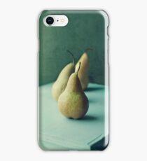 Still life series- Pears III iPhone Case/Skin