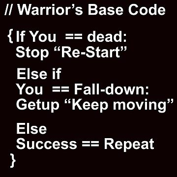 Warrior's Code by acompanyofn3rds