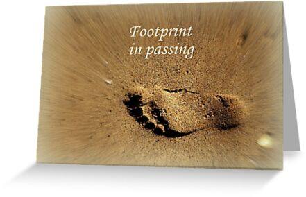 Footprint in Passing by Charmiene Maxwell-Batten