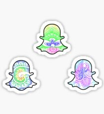 Tie Dye Cute Snapchat Pack Sticker