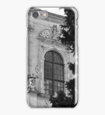 Monochrome facade in Puglia iPhone Case/Skin