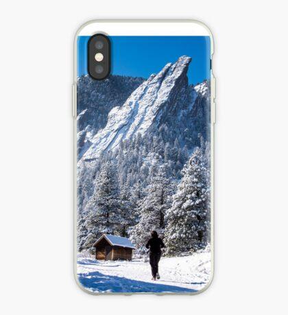 Flatirons Runner iPhone Case